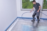 IDEAL TOP 15, the 15 mm dry construction floor heating system
